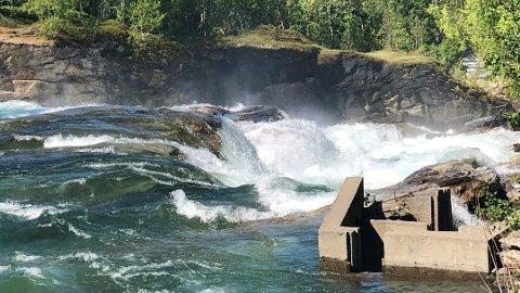 OMKOM: 22-åringen døde etter å ha falt ned Kistefossen.