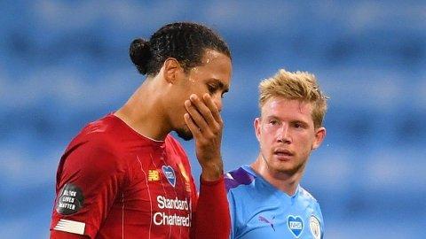VALGTE RØDT: Virgil van Dijk avslører at han kunne endt opp i Manchester City.