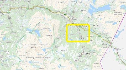 MERÅKER: Nødetatene rykket ved 13-tiden fredag ut til meldingen om en småflyulykke i Meråker.