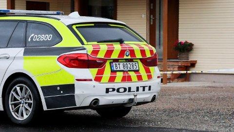 Politiet etterforsker et mistenkelig dødsfall i Steinkjer. Foto: Lars Lilleby Macedo / NTB scanpix