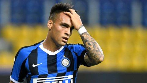 BLIR VÆRENDE? Lautaro Martinez ser ut til å bli værende i Inter.