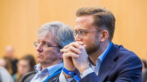 IKKE OVERRASKET: Kommunal- og moderniseringsminister Nikolai Astrup (H) sier tallene ikke er overraskende når det samtidig skjer en økning i tjenestene i kommunene.