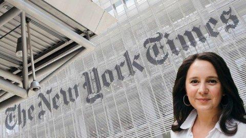 SIER OPP: Debattredaktør Bari Weiss sier opp fra The New York Times i protest mot å bli kalt en nazi og en rasist.
