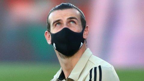 VEKKER OPPSIKT: Gareth Bale sin oppførsel fra tribunen de siste kampene har vekket oppsikt.