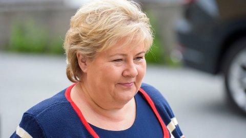 Statsminister Erna Solberg (Høyre)