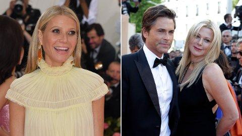 Da Gwyneth Paltrow nylig gjestet podkasten til skuespillerkollega Rob Lowe, kunne hun røpe hvordan hun møtte Lowes kone for første gang - og hva hun lærte av henne.