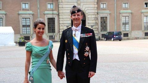 DANSK PRINS: Prins Joachim sammen med prinsesse Marie av Danmark.