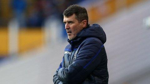 KRITISK TIL DE GEA: Roy Keane mener Manchester United bør gjøre noe med målvakt-situasjonen i klubben. Her fra tiden som assistent-trener i Nottingham Forest.