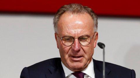 BURDE BLITT DELT UT: Karl Heinz Rummenigge mener at Ballon d'Or burde blitt delt ut i 2020 også.