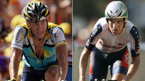 VAR LAGKAMERATER: Lance Armstrong og Tyler Hamilton syklet sammen i US Postal.