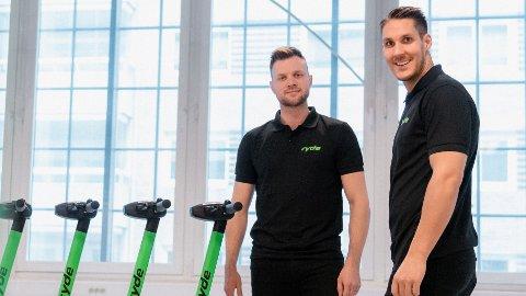 RYDE: Det norske selskapet Ryde konkurrer med en rekke internasjonale selskap i kampen om el-sparkesykkelmarkedet.