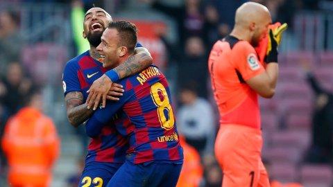 KLAR FOR JUVENTUS: Arthur skal spille for Juventus neste sesong, og nå nekter han å spille mer for Barcelona.