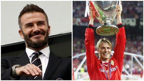 David Beckham kan se tilbake på en eventyrlig karriere, men nå ligger det an til at Manchester-yndlingen er i ferd med å drible seg inn på skjermer verden over.