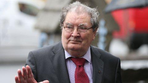 DØD: Tidligere fredsprisvinner John Hume er død.