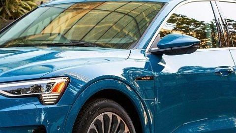 BESTSELGER: Audi e-tron er Norges mest solgte bil så langt i år, dette er Sportback-utgaven som akkurat har kommet til landet.