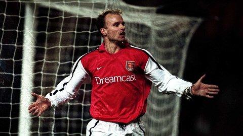 LEGENDE: Dennis Bergkamp trekkes ofte frem som kanskje den aller viktigste spilleren i Arsenals moderne historie.