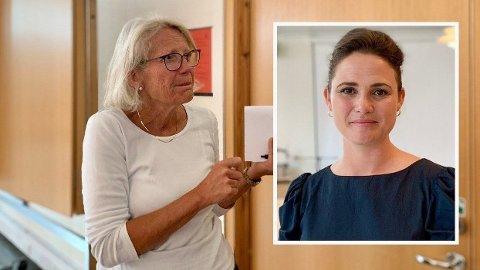 FEM NYE: Smittetallene i Stavanger bykset til totalt 143 torsdag, etter at fem personer fra Stavanger hadde blitt smittet på kort tid. Smittevernoverlege Ruth Midtgarden (til venstre) og ordfører Kari Nessa Nordtun (Ap) ser alvorlig på situasjonen.