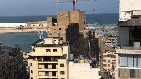 Fra leiligheten hun bodde i hadde Aja Nafstad utsyn mot den delen av havnen hvor de massive eksplosjonene fant sted.