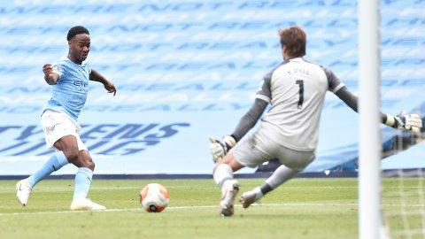 Raheem Sterling og Manchester City skal i aksjon mot Real Madrid i kveld.