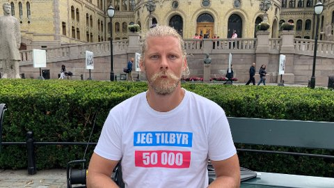 Samuel Rostøl, nestleder i Norsk vegansamfunn.