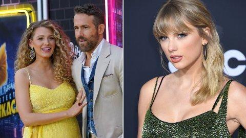 AVSLØRING: Taylor Swift fikk avsløre navnet på Blake Lively og Ryan Reynolds yngste barn i en av låtene på sitt nye album.