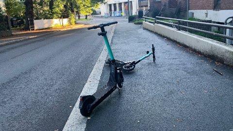 En person kan miste førerkortet etter å ha kjørt på rødt lys med en elsparkesykkel. NB: Dette bildet er kun ment som en illustrasjon.