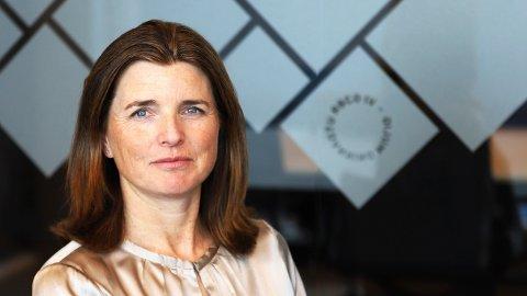 LAVERE ENN NOEN GANG: - Rentesatsene for 5- og 10 år i Lånekassen har aldri noen gang vært lavere enn de blir fra 1. september, sier administrerende direktør i Lånekassen, Nina Schanke Funnemark.