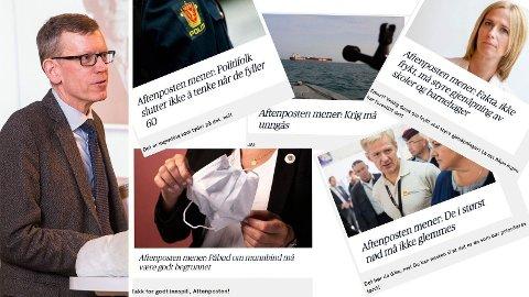 Aftenpostens politiske redaktør, Kjetil B. Alstadheim, svarer på kritikk fra Natt&Dag.