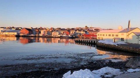 Uro i ellers fredelige Vardø i Øst-Finnmark.