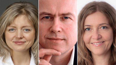Tanja Kalchenko (t.v.) og Nina Johansen er dypt uenig i Nettavisen-kommentator Kjell-Magne Rystads siste bidrag i den norske vegan-debatten som har pågått i Nettavisen den siste tiden.