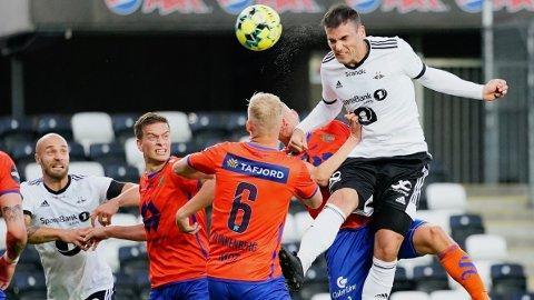 HELT: Dino Islamovic ble Rosenborgs helt med to scoringer.