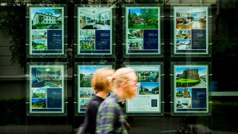 MINDRE FART NÅ: August ser ut til å bli en roligere måned for boligmarkedet enn juli.