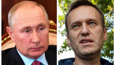 OPPOSISJONSPOLITIKER: Den russiske opposisjonslederen Aleksej Navalnyj (bildet) kjemper blant annet mot korrupsjon og er en av president Vladimir Putins argeste kritikere.