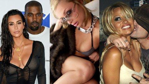 Kim Kardashian, Paris Hilton og Pamela Anderson er alle superstjerner som har opplevd å ha sex-videoer på avveie, men historiene bak er minst like ville som de enorme seertallene.