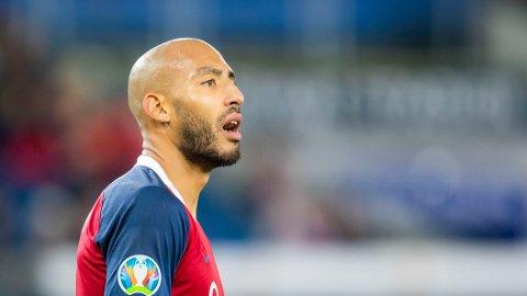 Haitam Aleesami ser seg om etter ny klubb. Han håper å være med i Norges landslagstropp til Nations League-kamper i september.