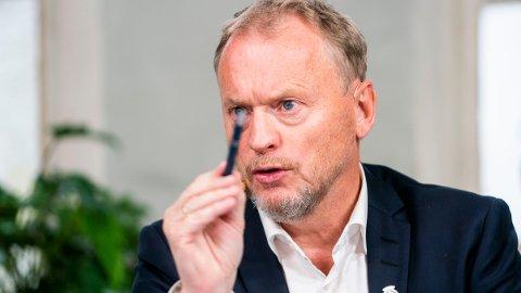 TAPTE IGJEN: Det rødgrønne byrådet med Raymond Johansen i spissen må punge ut til minoritetsaksjonærene i Hafslund. Foto: Håkon Mosvold Larsen / NTB scanpix