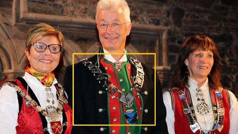 REKORD: Norges dyreste ordførerkjede ble kåret til vinneren av sløseriprisen.