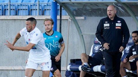 Vålerengas trener Dag Eilev Fagermo var ikke fornøyd med sitt lag mot Haugesund.