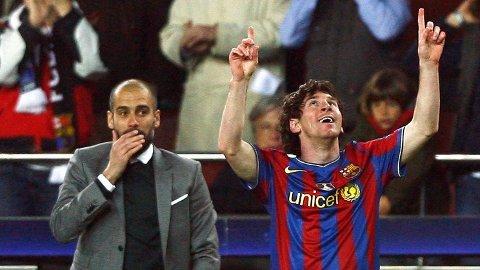 KAN BLI GJENFORENT: Spanske Sport skriver at Manchester City er villige til å punge ut for å hente Lionel Messi.