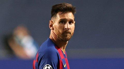 VIL BORT: Lionel Messi har ytret ønske om å forlate Barcelona.
