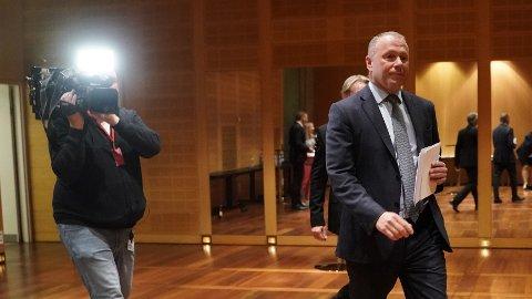 Nicolai Tangen har ikke fått endelig arbeidsavtale når han begynner på jobb.