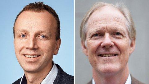 Bjørn Arild Thon og Leif Nordhus svare på kritkk fra Norsk Industri og Byggevareindustriens forening.