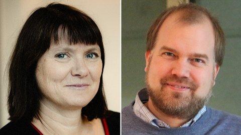 Trine Dyrstad Pettersen og Gunnar Grini.