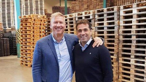 Martin Andresen og tidligere VIF-direktør Søren Eriksen selger seg nå ut av palle-selskapet Smart Retur. Ifølge Finansavisen selger de 75 prosent av selskapet til Norvestor. Prisen er etter det Nettavisen erfarer på mellom 300 og 350 millioner kroner.