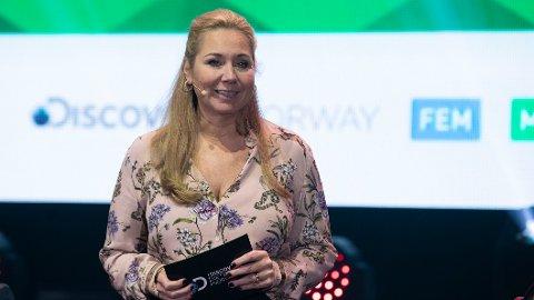 Administrerende direktør Tine Austvoll Jensen i Discovery Networks Norway under medieaktørens vårlansering. Nå slutter hun i Discovery.
