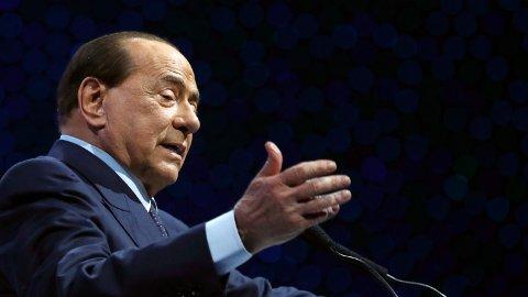 Silvio Berlusconi er innlagt på sykehus.