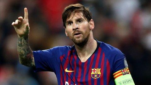 FORTSETTER I BARCELONA: Lionel Messi forlater ikke Barcelona.
