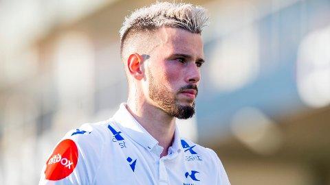 IKKE TATT UT: Haugesunds Kristoffer Velde synes det er rart han ikke ble inkludert i Norges U21-tropp etter en glimrende start på eliteseriesesongen.