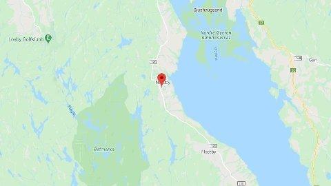 En mann døde etter en ulykke ved Nordby i Rælingen kommune.