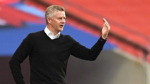 TOPP FIRE: Ole Gunnar Solskjær skal forsøke å forbedre sitt Manchester United-lag etter å ha kommet på tredjeplass forrige sesong.